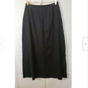 J.Jill Maxi Textured Long Skirt